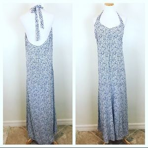 VINEYARD VINES Tie Dye Silk Maxi Dress